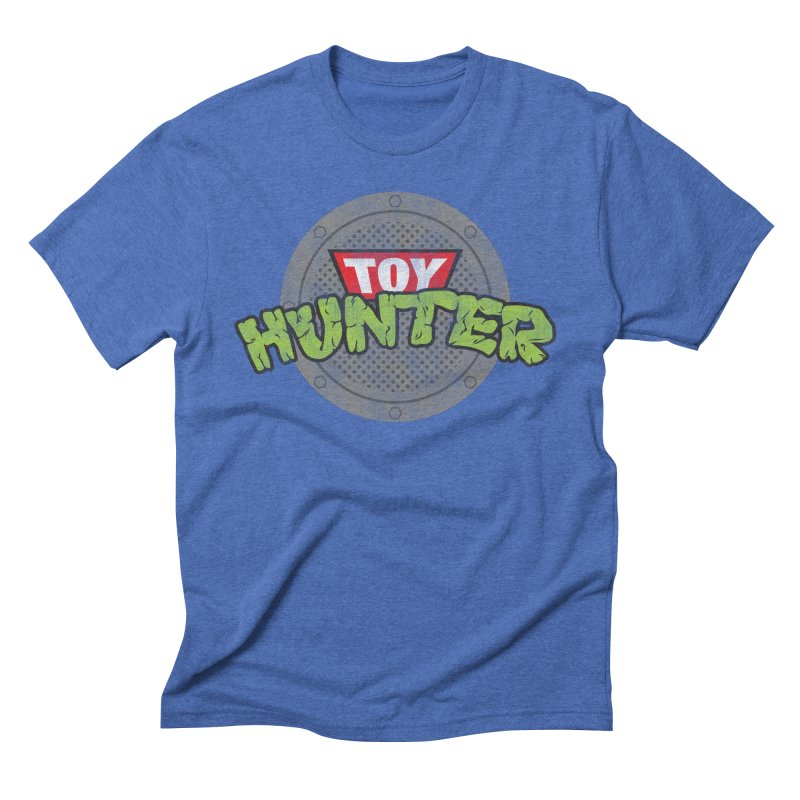 Toy Hunter - Turtle Flavor Men's Triblend T-Shirt by Gamma Bomb - Explosively Mutating Your Look