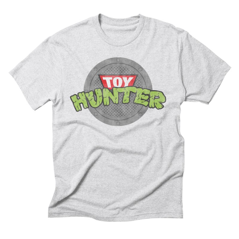 Toy Hunter - Turtle Flavor Men's Triblend T-Shirt by Gamma Bomb - A Celebration of Imagination