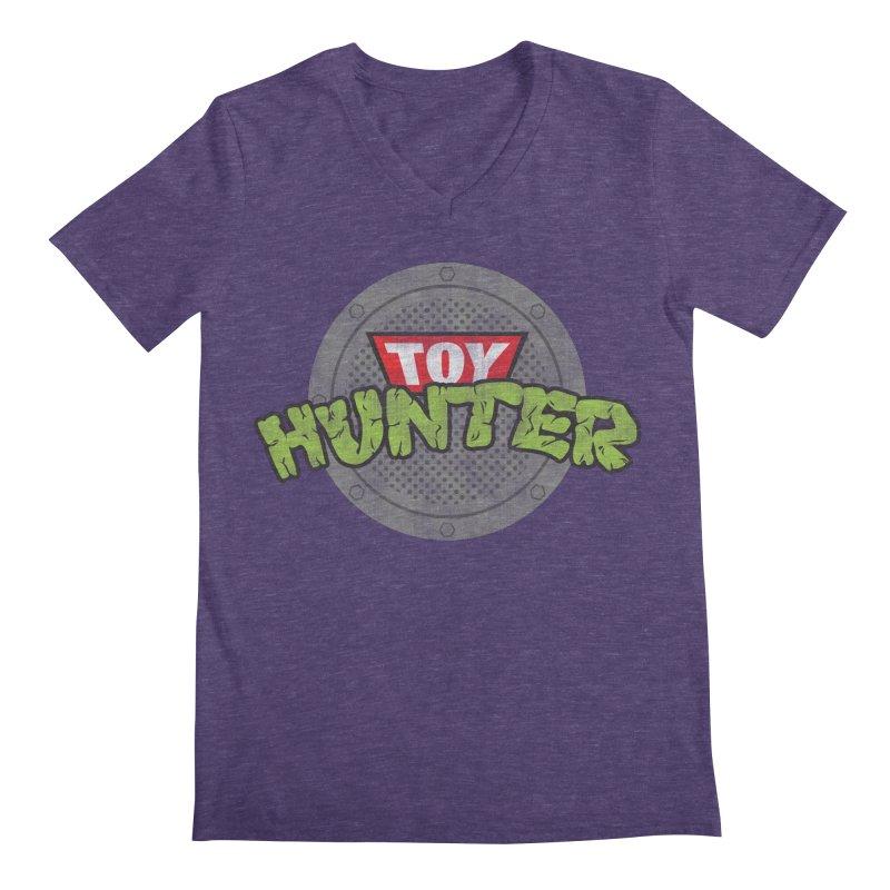 Toy Hunter - Turtle Flavor Men's Regular V-Neck by Gamma Bomb - A Celebration of Imagination
