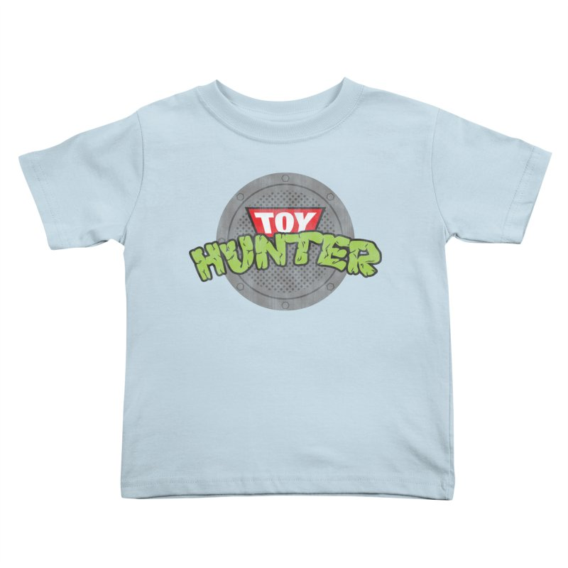 Toy Hunter - Turtle Flavor Kids Toddler T-Shirt by Gamma Bomb - A Celebration of Imagination