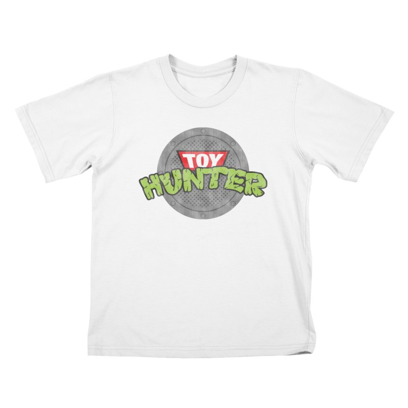 Toy Hunter - Turtle Flavor Kids T-Shirt by Gamma Bomb - A Celebration of Imagination