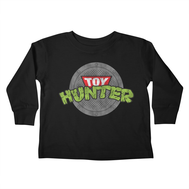 Toy Hunter - Turtle Flavor Kids Toddler Longsleeve T-Shirt by Gamma Bomb - A Celebration of Imagination