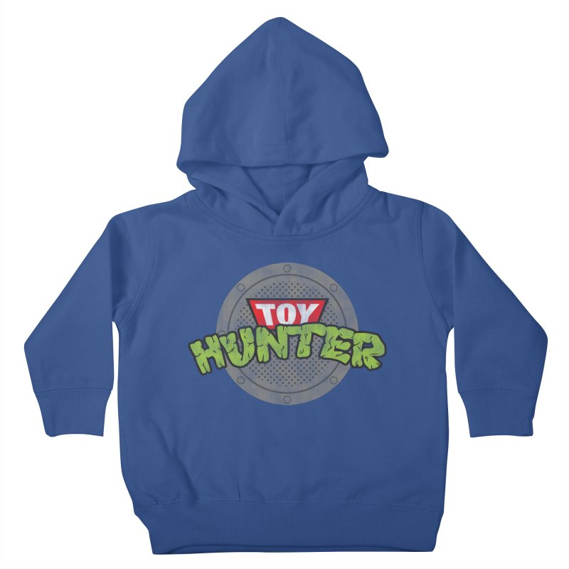 Toy Hunter - Turtle Flavor Kids Toddler Pullover Hoody by Gamma Bomb - Explosively Mutating Your Look