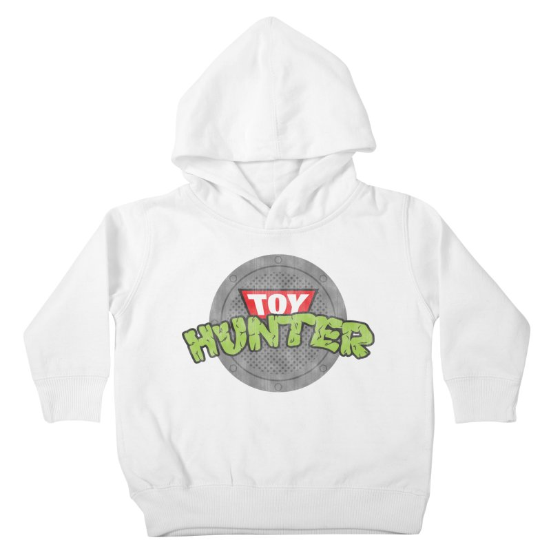 Toy Hunter - Turtle Flavor Kids Toddler Pullover Hoody by Gamma Bomb - A Celebration of Imagination