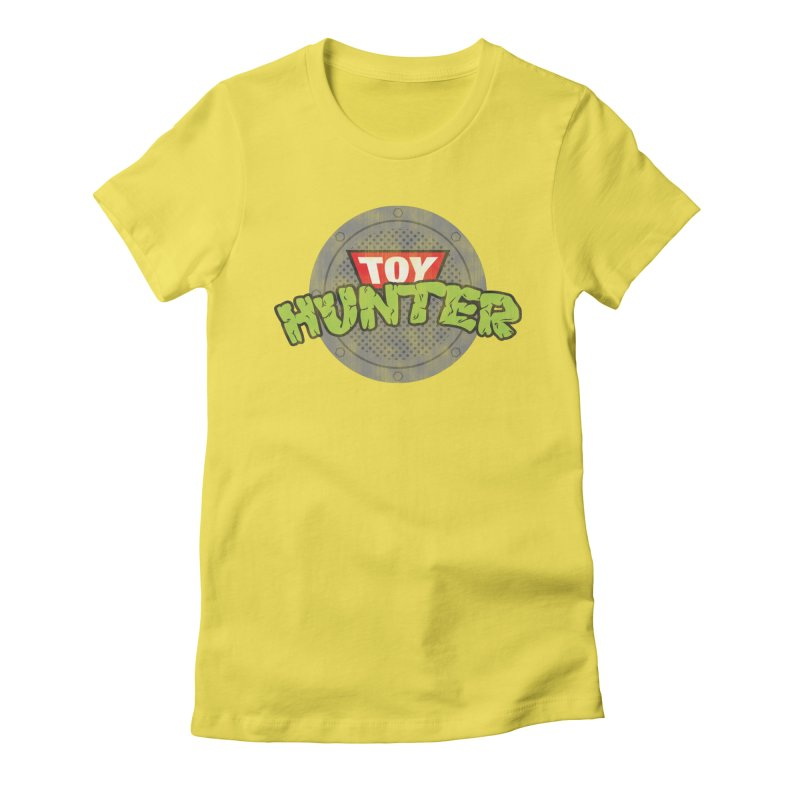 Toy Hunter - Turtle Flavor Women's Fitted T-Shirt by Gamma Bomb - A Celebration of Imagination