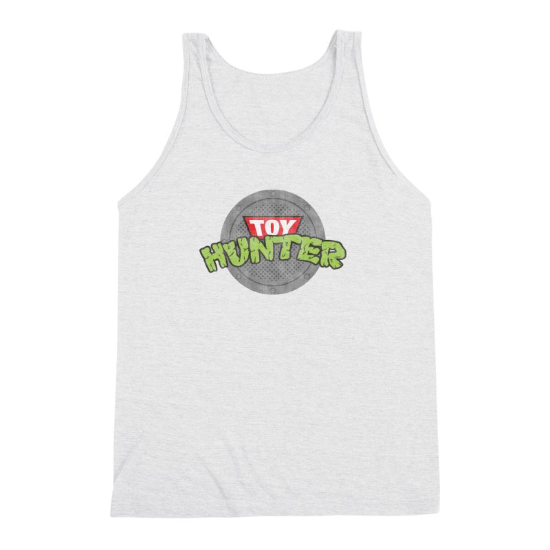 Toy Hunter - Turtle Flavor Men's Triblend Tank by Gamma Bomb - A Celebration of Imagination