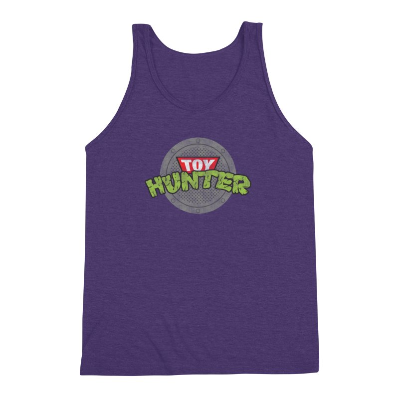 Toy Hunter - Turtle Flavor Men's Triblend Tank by Gamma Bomb - Explosively Mutating Your Look