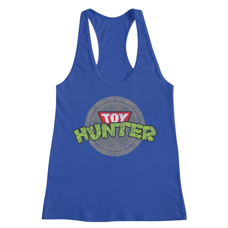 Toy Hunter - Turtle Flavor Women's Racerback Tank by Gamma Bomb - Explosively Mutating Your Look