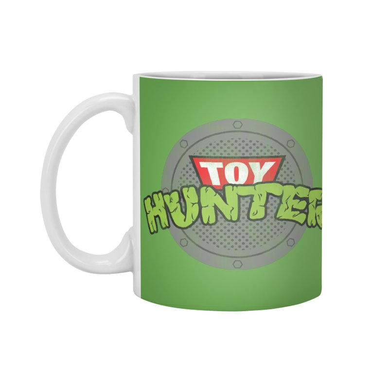 Toy Hunter - Turtle Flavor Accessories Standard Mug by Gamma Bomb - Explosively Mutating Your Look