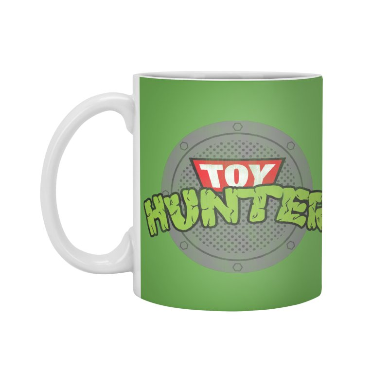 Toy Hunter - Turtle Flavor Accessories Mug by Gamma Bomb - A Celebration of Imagination