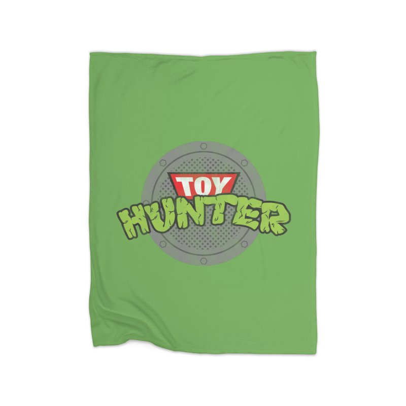 Toy Hunter - Turtle Flavor Home Blanket by Gamma Bomb - Explosively Mutating Your Look