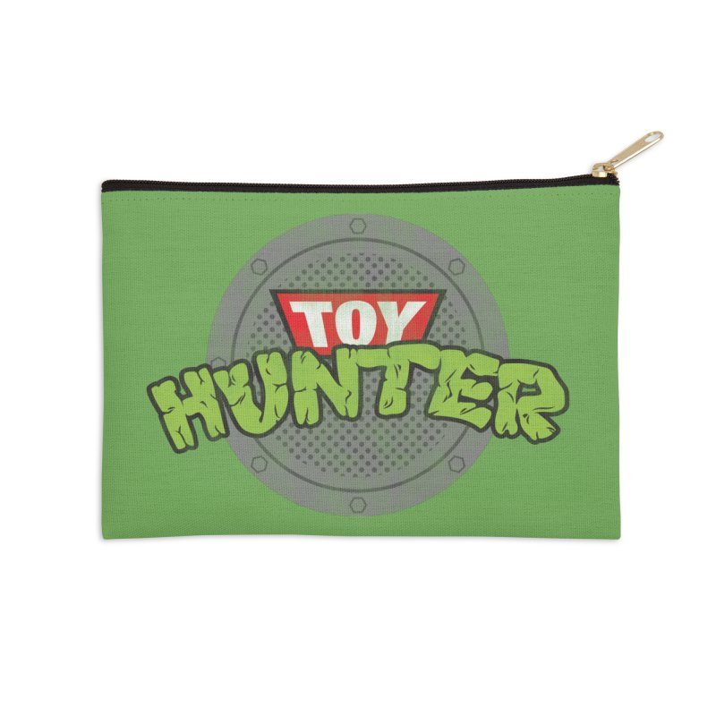 Toy Hunter - Turtle Flavor Accessories Zip Pouch by Gamma Bomb - A Celebration of Imagination