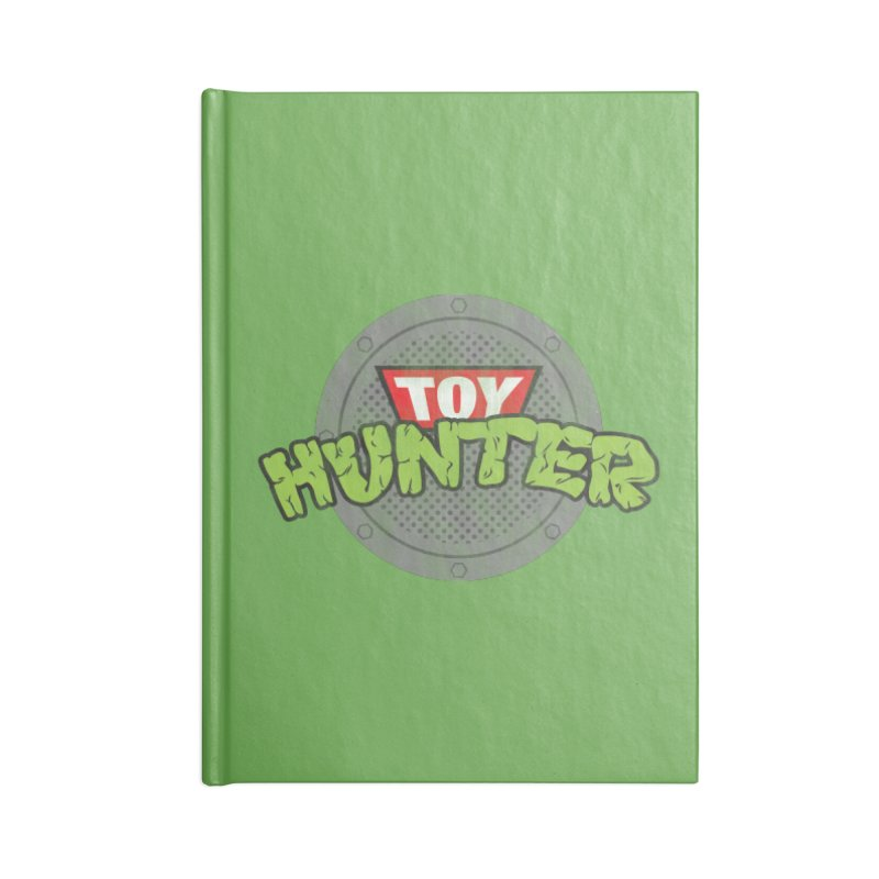 Toy Hunter - Turtle Flavor Accessories Blank Journal Notebook by Gamma Bomb - Explosively Mutating Your Look