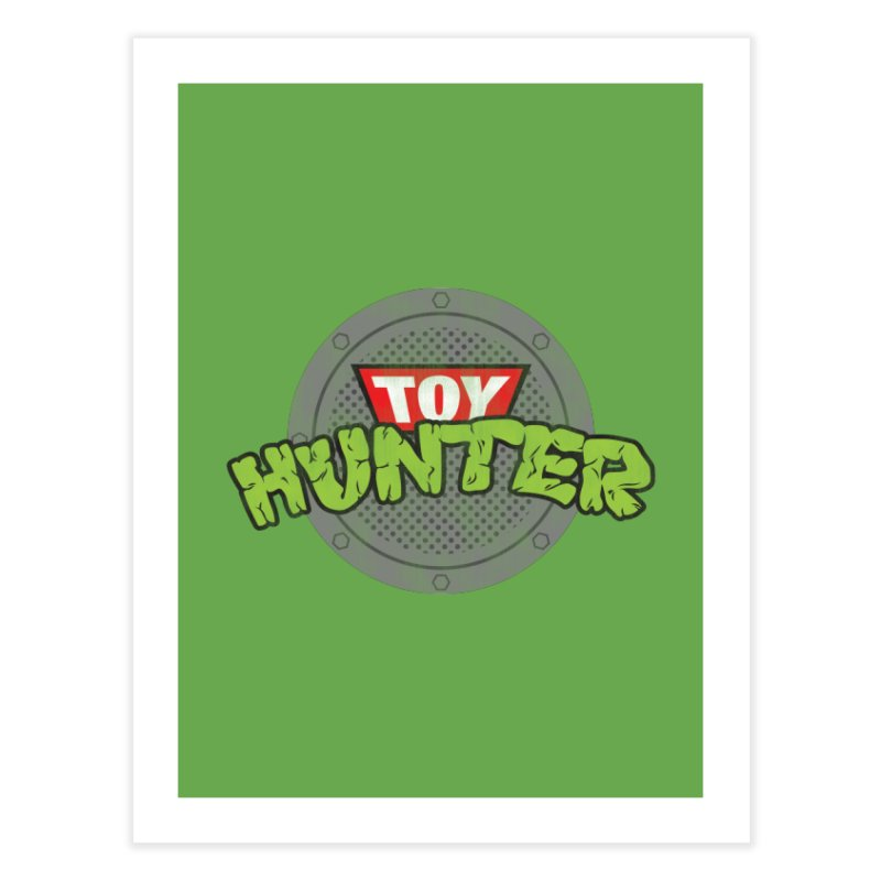 Toy Hunter - Turtle Flavor Home Fine Art Print by Gamma Bomb - A Celebration of Imagination