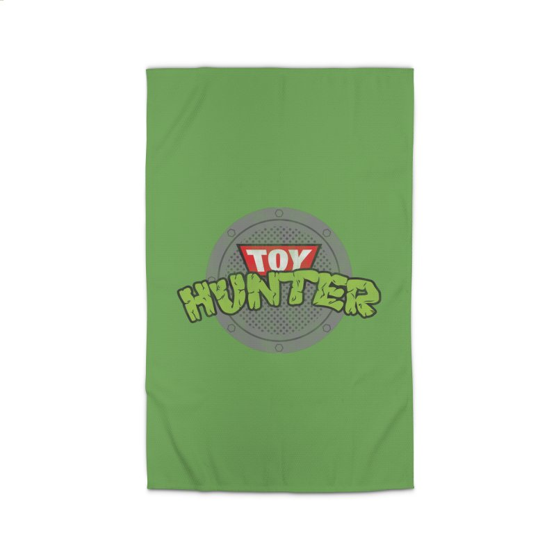 Toy Hunter - Turtle Flavor Home Rug by Gamma Bomb - Explosively Mutating Your Look