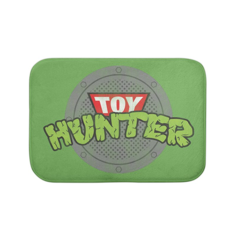 Toy Hunter - Turtle Flavor Home Bath Mat by Gamma Bomb - A Celebration of Imagination