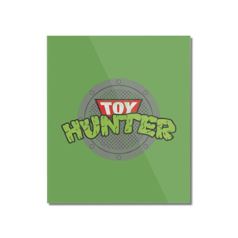 Toy Hunter - Turtle Flavor Home Mounted Acrylic Print by Gamma Bomb - A Celebration of Imagination