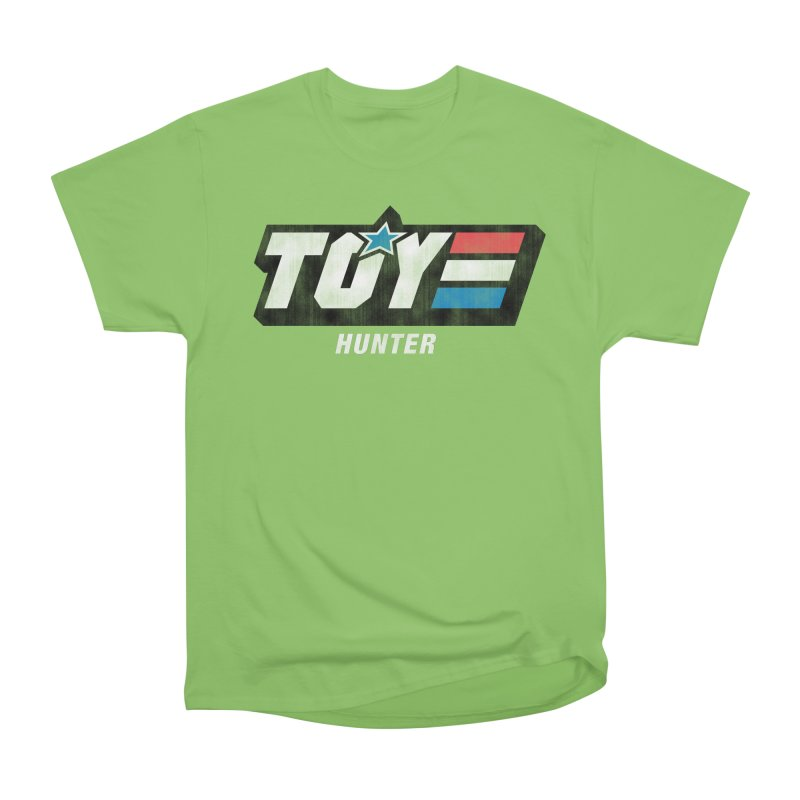 Toy Hunter - Joe Flavor Men's Heavyweight T-Shirt by Gamma Bomb - Explosively Mutating Your Look