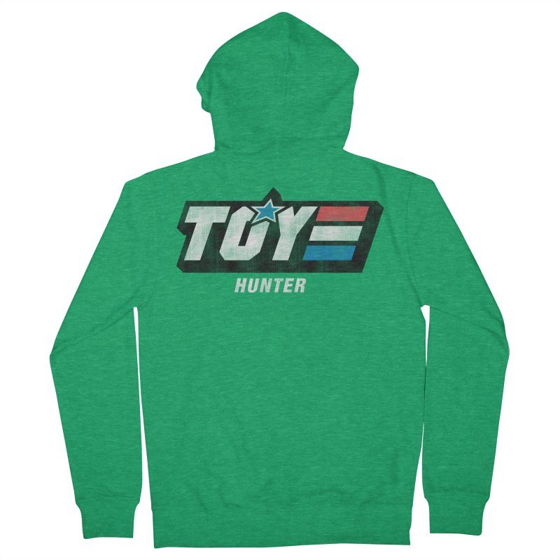 Toy Hunter - Joe Flavor Women's French Terry Zip-Up Hoody by Gamma Bomb - A Celebration of Imagination