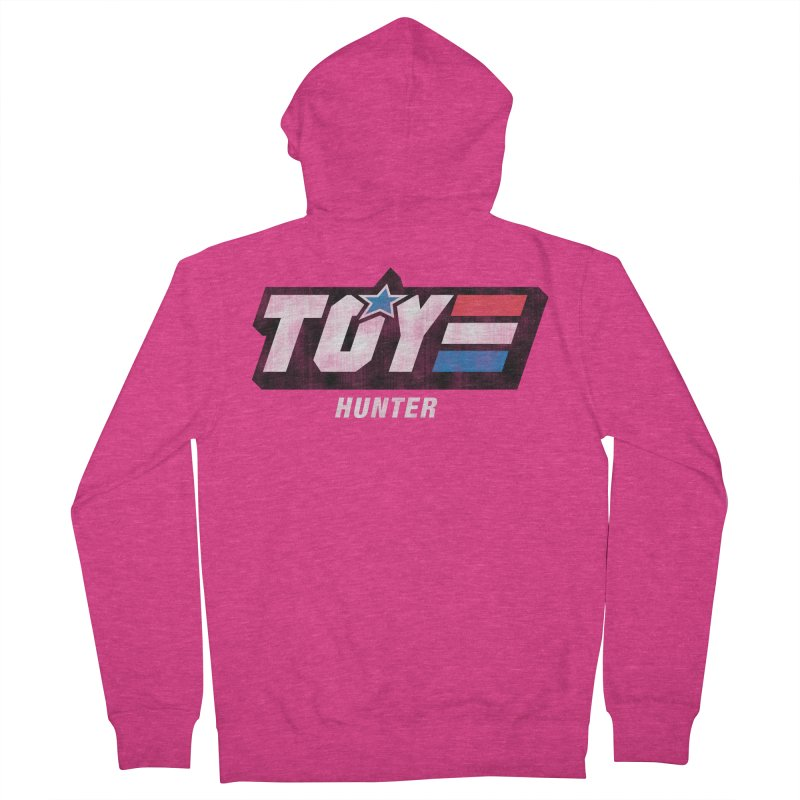 Toy Hunter - Joe Flavor Women's French Terry Zip-Up Hoody by Gamma Bomb - Explosively Mutating Your Look