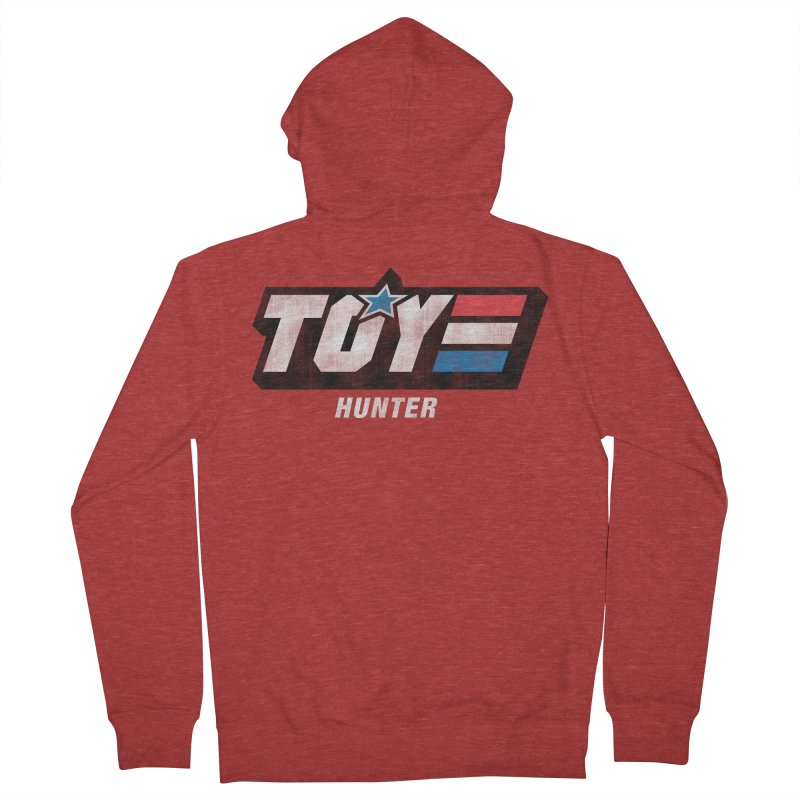 Toy Hunter - Joe Flavor Men's French Terry Zip-Up Hoody by Gamma Bomb - A Celebration of Imagination