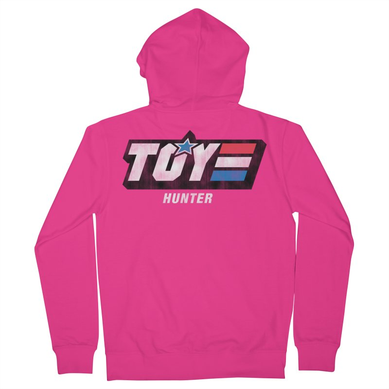 Toy Hunter - Joe Flavor Men's French Terry Zip-Up Hoody by Gamma Bomb - Explosively Mutating Your Look