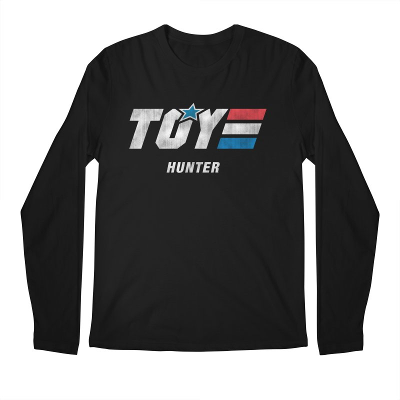Toy Hunter - Joe Flavor Men's Regular Longsleeve T-Shirt by Gamma Bomb - Explosively Mutating Your Look