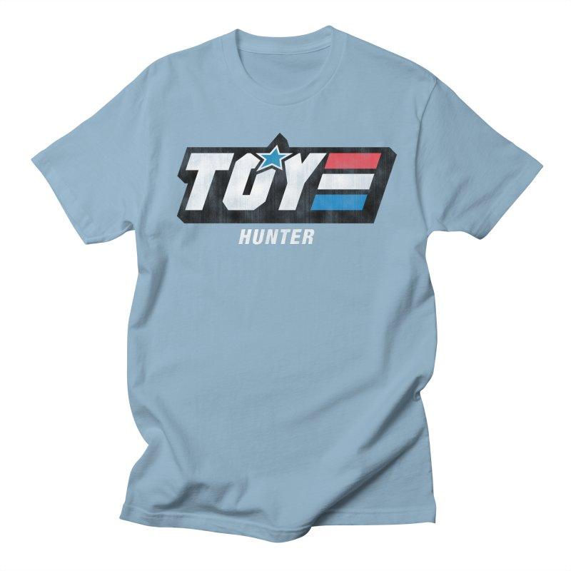 Toy Hunter - Joe Flavor Men's Regular T-Shirt by Gamma Bomb - Explosively Mutating Your Look