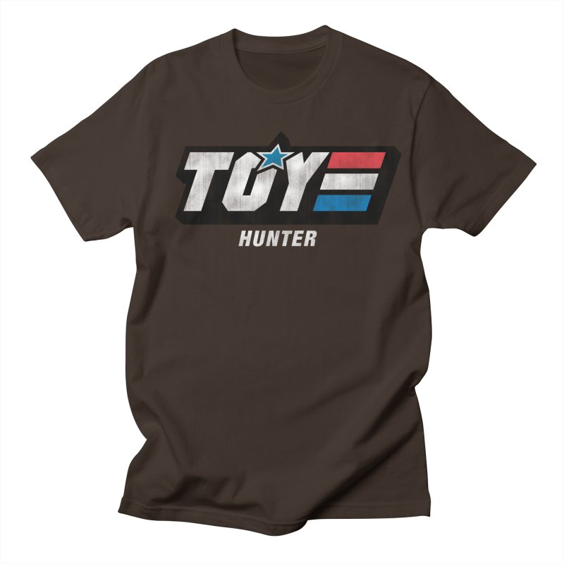 Toy Hunter - Joe Flavor Men's Regular T-Shirt by Gamma Bomb - Explosively Mutating Your Look