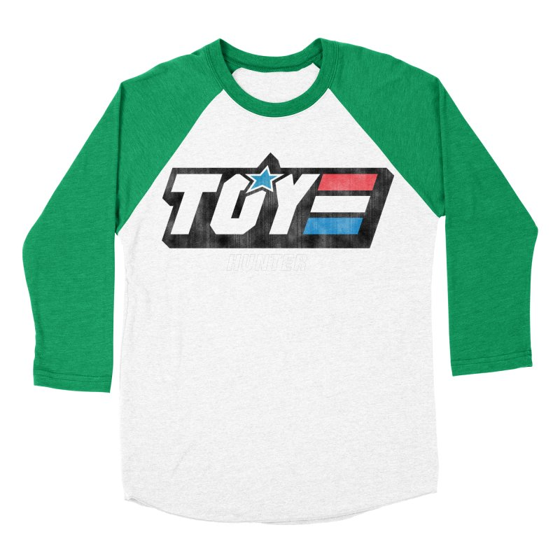 Toy Hunter - Joe Flavor Women's Baseball Triblend Longsleeve T-Shirt by Gamma Bomb - Explosively Mutating Your Look