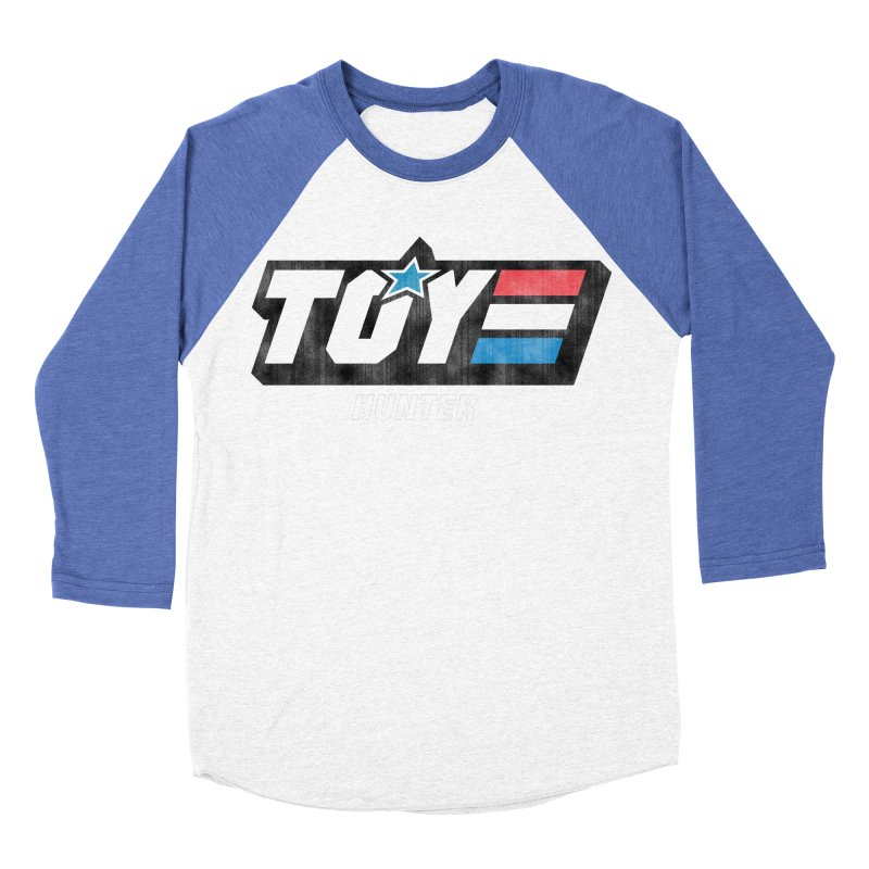 Toy Hunter - Joe Flavor Men's Baseball Triblend Longsleeve T-Shirt by Gamma Bomb - Explosively Mutating Your Look