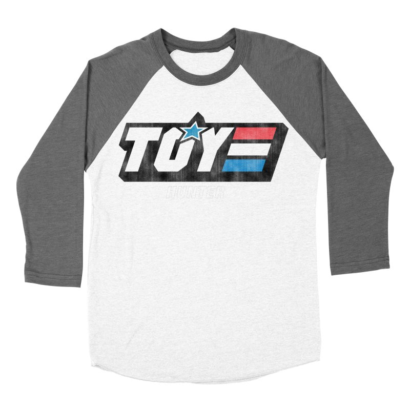 Toy Hunter - Joe Flavor Men's Baseball Triblend Longsleeve T-Shirt by Gamma Bomb - Explosively Mutating Your Look