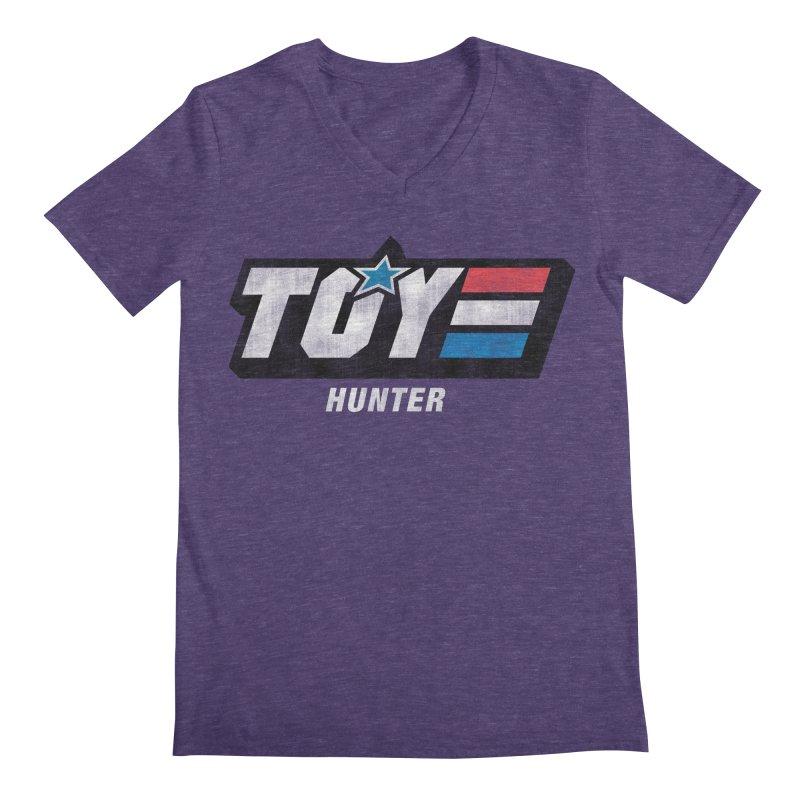 Toy Hunter - Joe Flavor Men's Regular V-Neck by Gamma Bomb - Explosively Mutating Your Look
