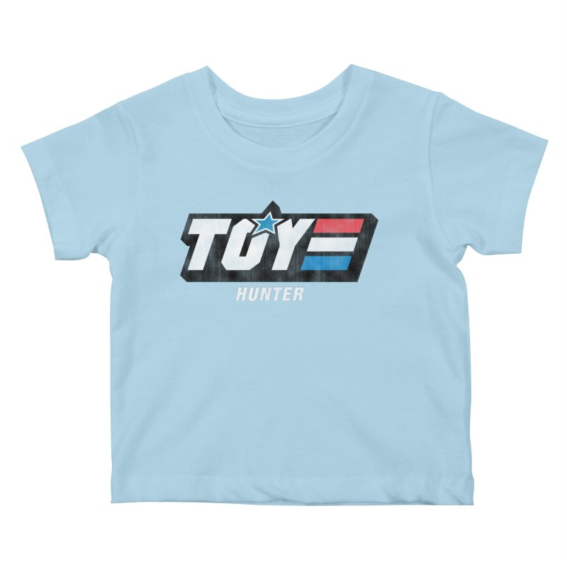 Toy Hunter - Joe Flavor Kids Baby T-Shirt by Gamma Bomb - Explosively Mutating Your Look