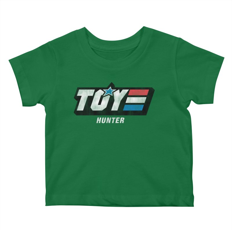 Toy Hunter - Joe Flavor Kids Baby T-Shirt by Gamma Bomb - A Celebration of Imagination