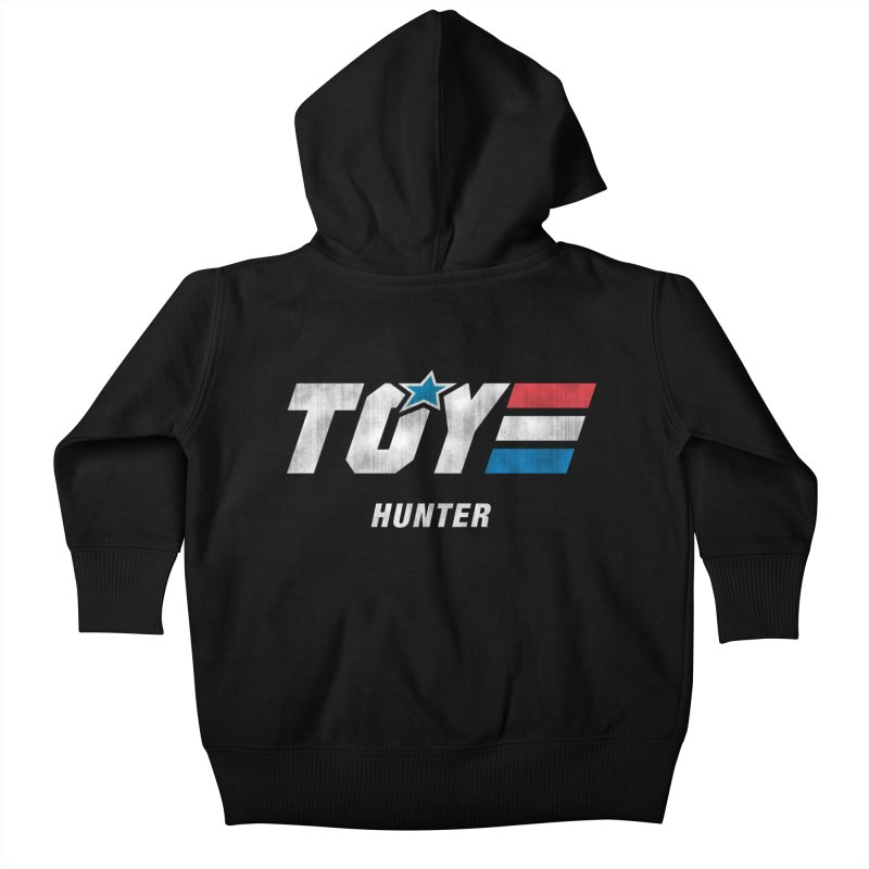 Toy Hunter - Joe Flavor Kids Baby Zip-Up Hoody by Gamma Bomb - Explosively Mutating Your Look