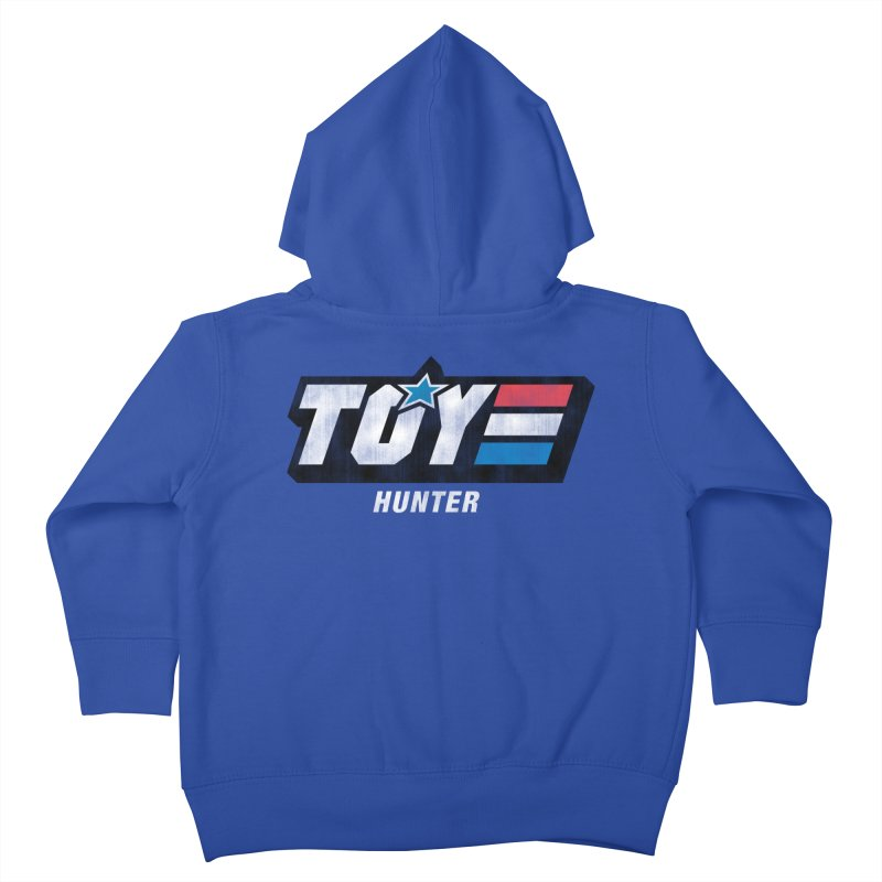 Toy Hunter - Joe Flavor Kids Toddler Zip-Up Hoody by Gamma Bomb - Explosively Mutating Your Look