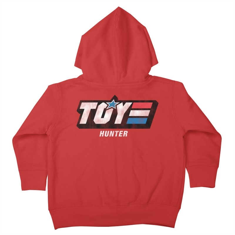 Toy Hunter - Joe Flavor Kids Toddler Zip-Up Hoody by Gamma Bomb - A Celebration of Imagination