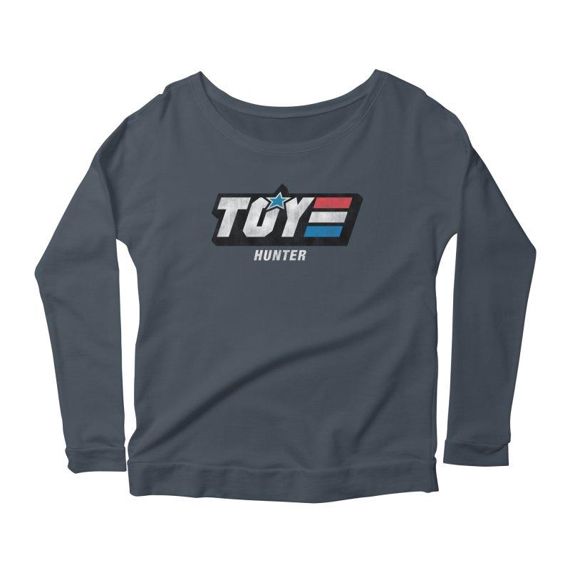 Toy Hunter - Joe Flavor Women's Scoop Neck Longsleeve T-Shirt by Gamma Bomb - A Celebration of Imagination