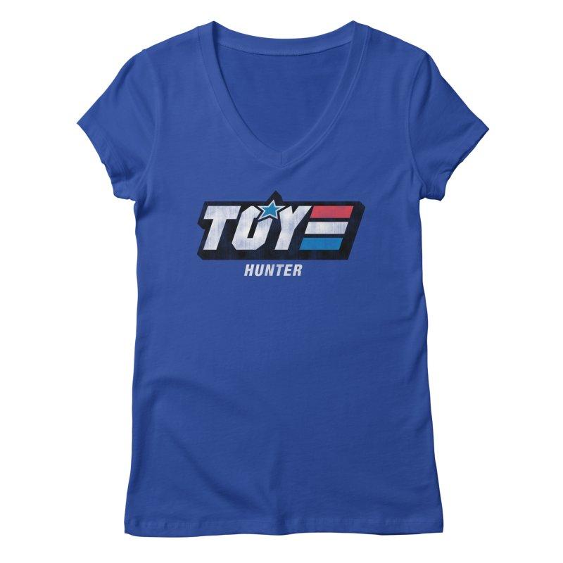 Toy Hunter - Joe Flavor Women's Regular V-Neck by Gamma Bomb - Explosively Mutating Your Look