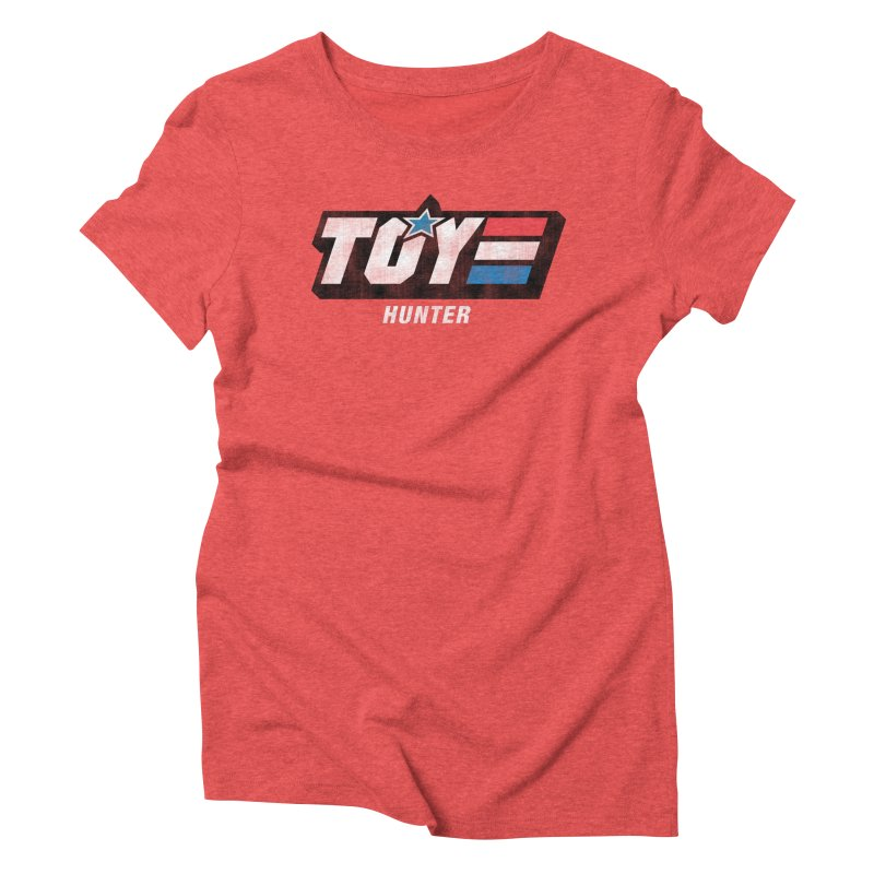 Toy Hunter - Joe Flavor Women's Triblend T-Shirt by Gamma Bomb - Explosively Mutating Your Look