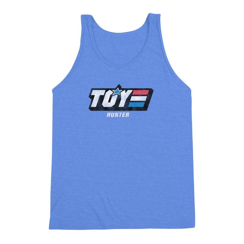 Toy Hunter - Joe Flavor Men's Triblend Tank by Gamma Bomb - Explosively Mutating Your Look
