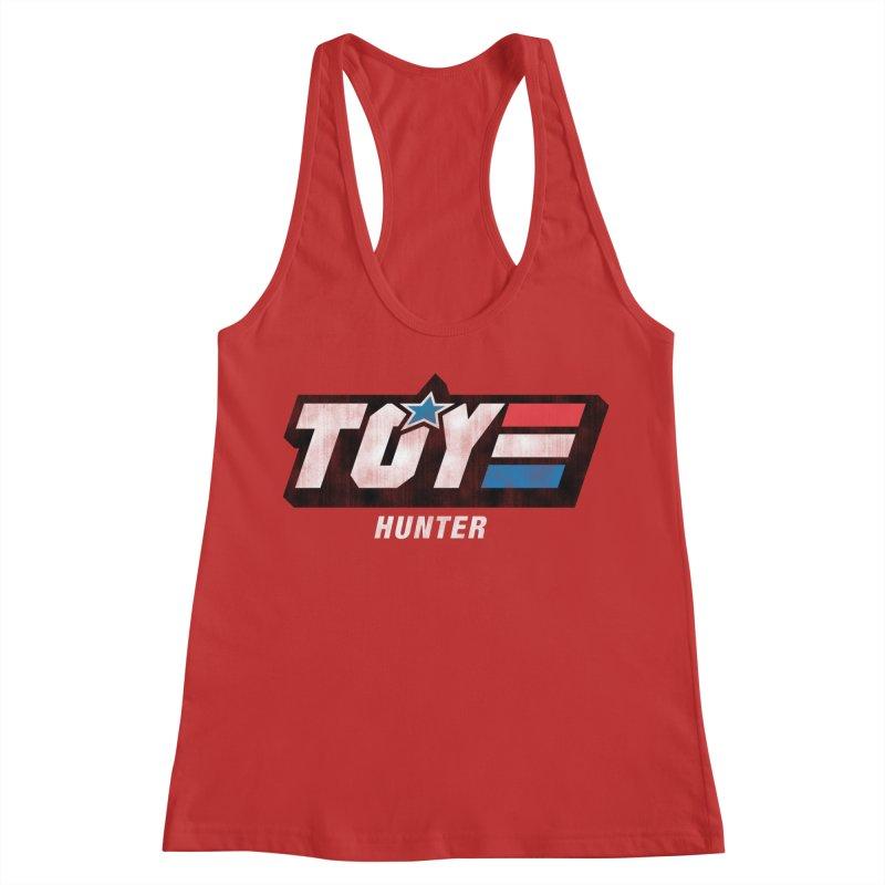 Toy Hunter - Joe Flavor Women's Racerback Tank by Gamma Bomb - Explosively Mutating Your Look