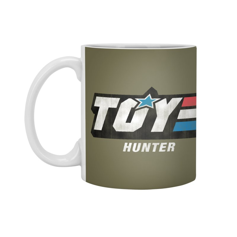 Toy Hunter - Joe Flavor Accessories Mug by Gamma Bomb - Explosively Mutating Your Look