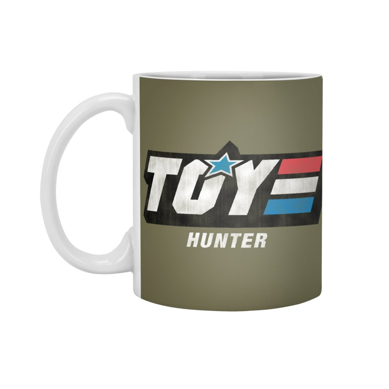 Toy Hunter - Joe Flavor Accessories Standard Mug by Gamma Bomb - Explosively Mutating Your Look