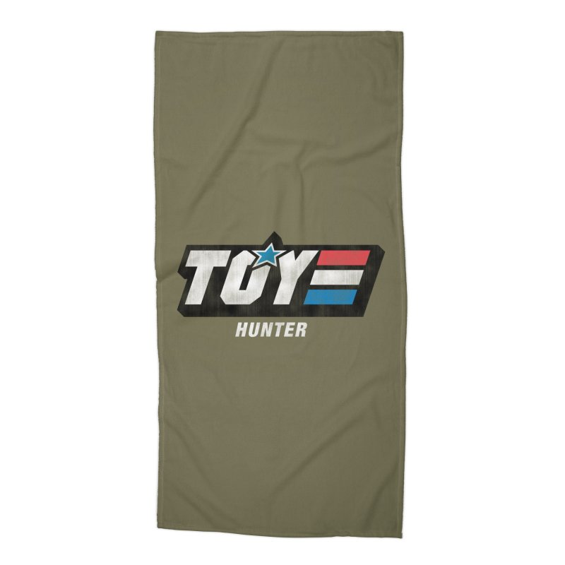 Toy Hunter - Joe Flavor Accessories Beach Towel by Gamma Bomb - Explosively Mutating Your Look