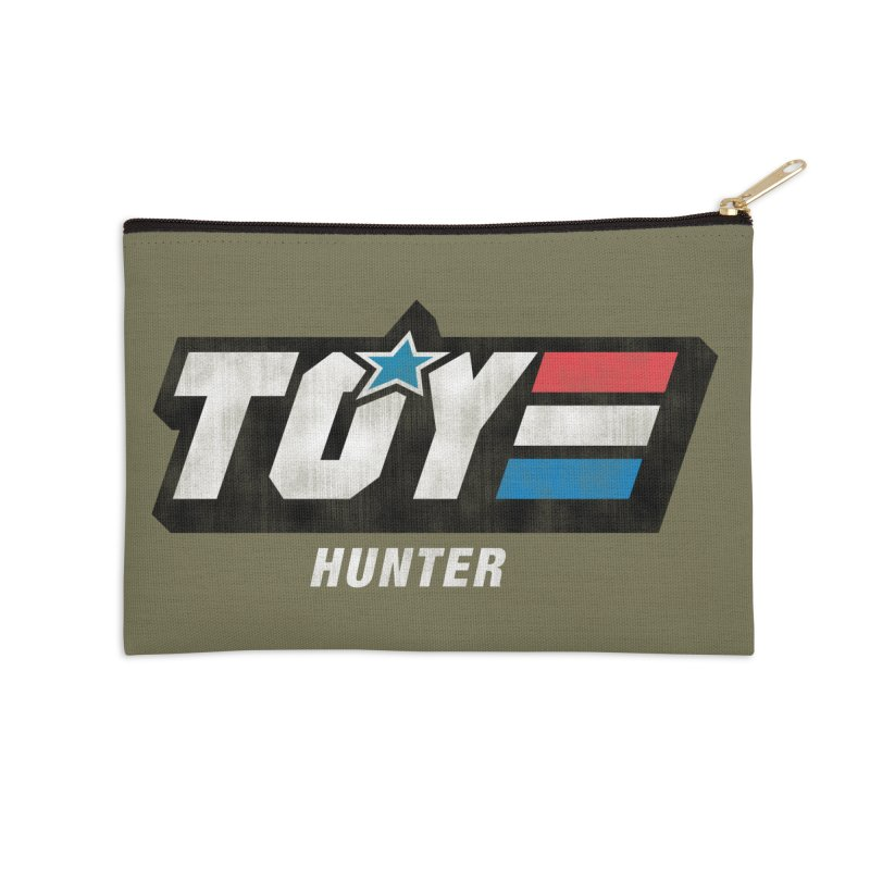Toy Hunter - Joe Flavor Accessories Zip Pouch by Gamma Bomb - A Celebration of Imagination