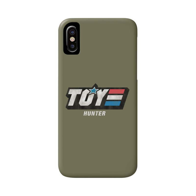 Toy Hunter - Joe Flavor Accessories Phone Case by Gamma Bomb - A Celebration of Imagination