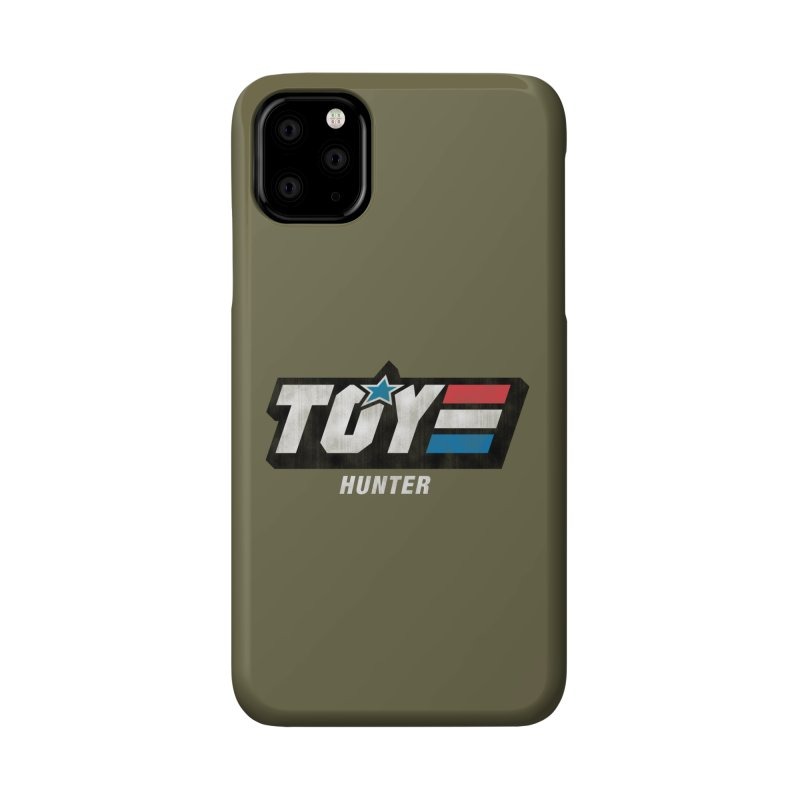 Toy Hunter - Joe Flavor Accessories Phone Case by Gamma Bomb - Explosively Mutating Your Look