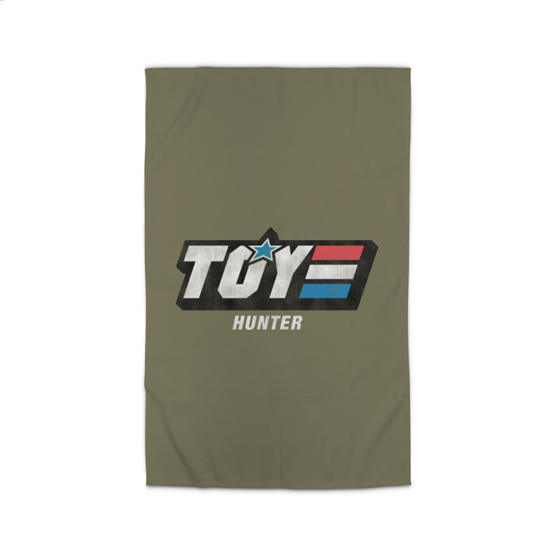 Toy Hunter - Joe Flavor Home Rug by Gamma Bomb - A Celebration of Imagination